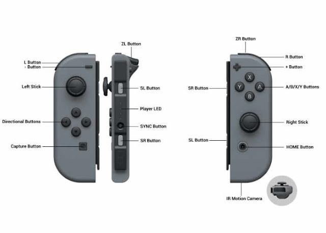 joy controle nintendo switch