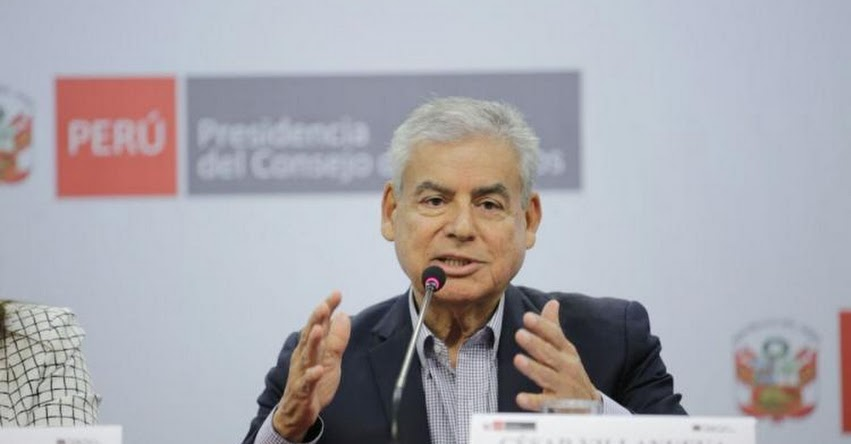 Hoy lunes juramenta nuevo Ministro de la Producción, informó el presidente del Consejo de Ministros, César Villanueva - PCM - www.pcm.gob.pe