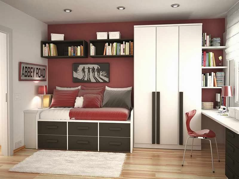 Cool Teenage Bedroom Schemes - AyanaHouse