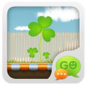 Tema Go SMS Pro Secret Garden | Download