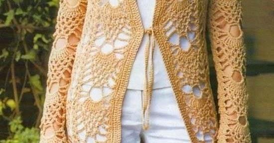 Crochet Sweaters Crochet Lace Cardigan Free Pattern Stylish
