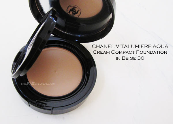 the raeviewer a blog about luxury and high end cosmetics chanel vitalumiere aqua cream. Black Bedroom Furniture Sets. Home Design Ideas