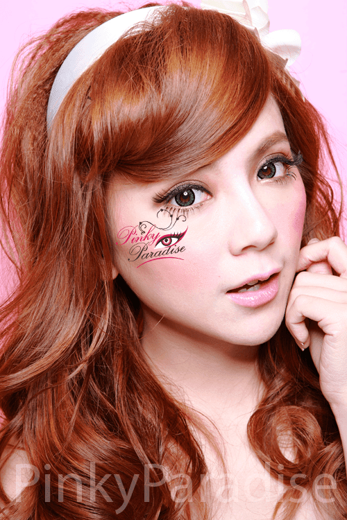 Geo-Angel Green Circle Lenses Model 2