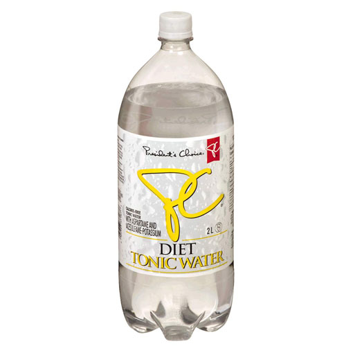 Diet Tonic Water Vs. Regular Tonic Water