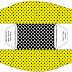 Amarillo con Lunares Negros: Cajas para Imprimir Gratis.
