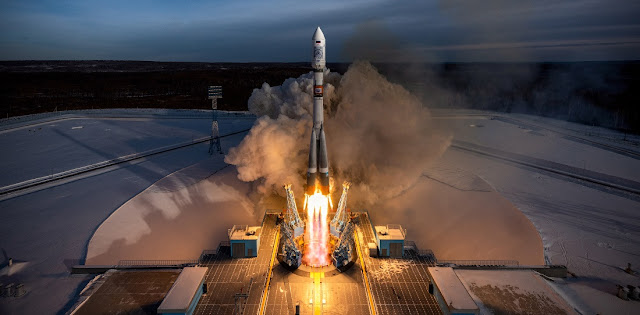 Soyuz-2.1a rocket launch from Vostochny Cosmodrome on Dec. 27, 2018. Credit: Roscosmos
