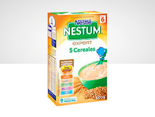 PAPILLA NESTUM 5 Cereales