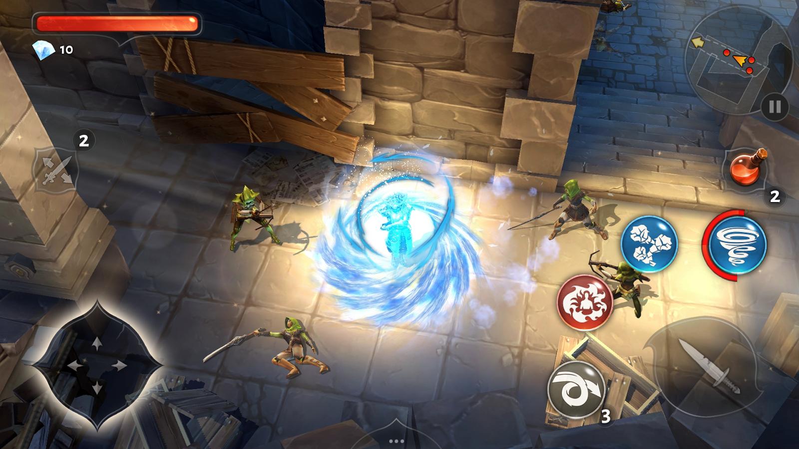 download game demon hunter apk mod