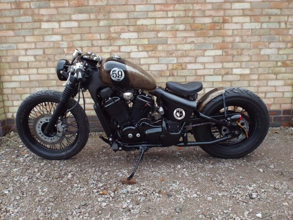 ϟ hell kustom ϟ: honda shadow 600voodoo custom cycles