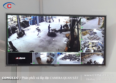 Lắp camera quan sát ở đường Lê Hồng Phong - Quận Ngô Quyền