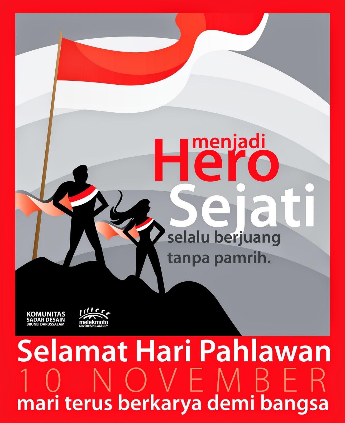BBM BERGAMBAR Kumpulan Gambar Dp Bbm Hari Pahlawan Terbaru 2015