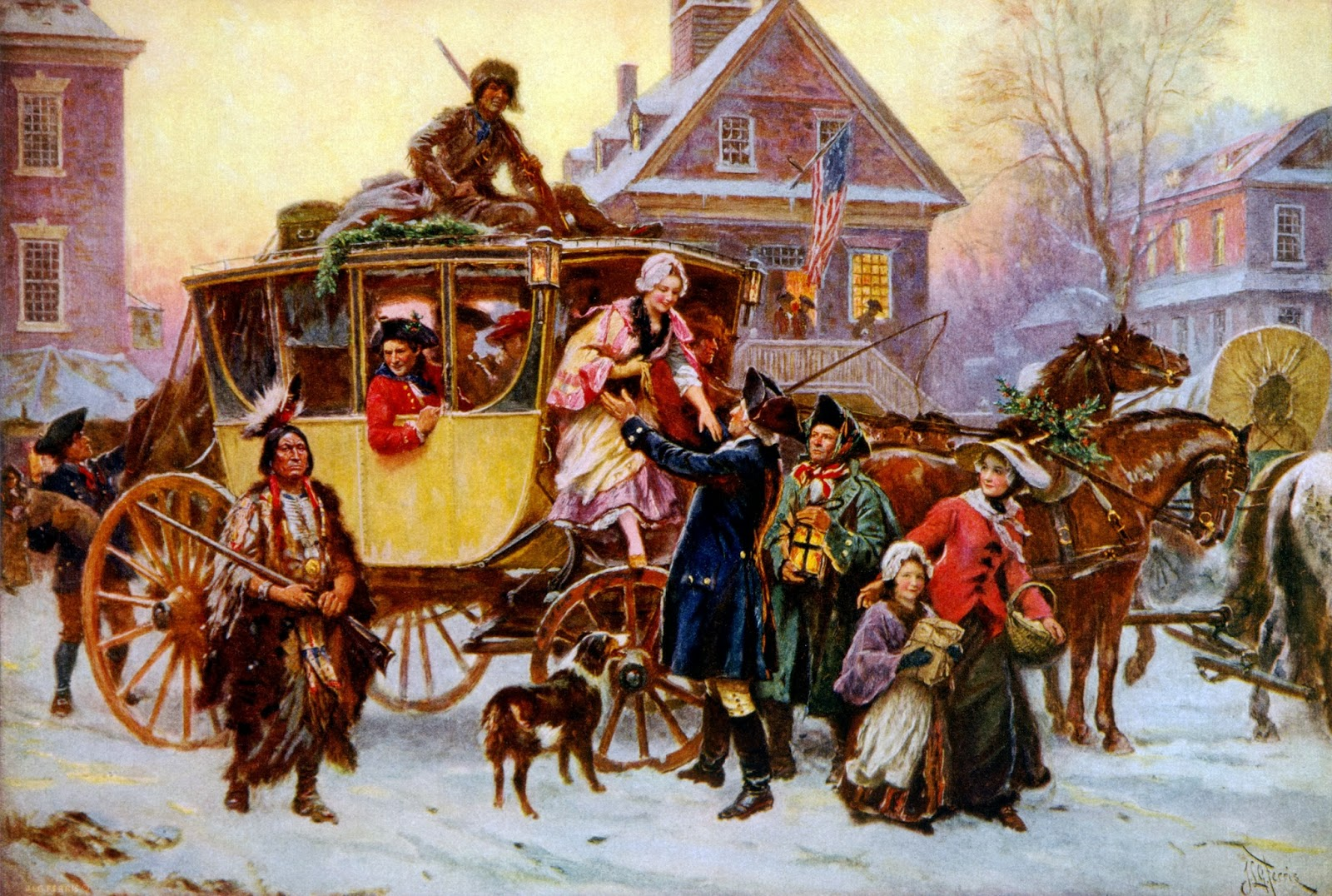 The History Of Christmas.The Washington Jefferson Madison Institute The History