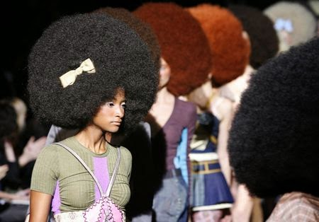 Afros and Afro Hair Styles