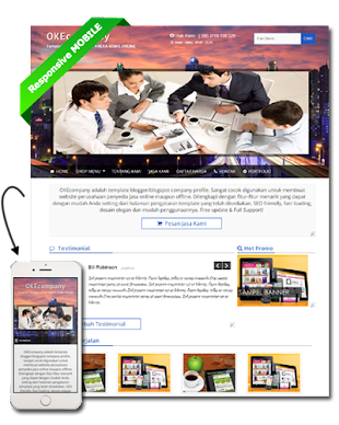 OKEcompany - Template Blogger Bisnis