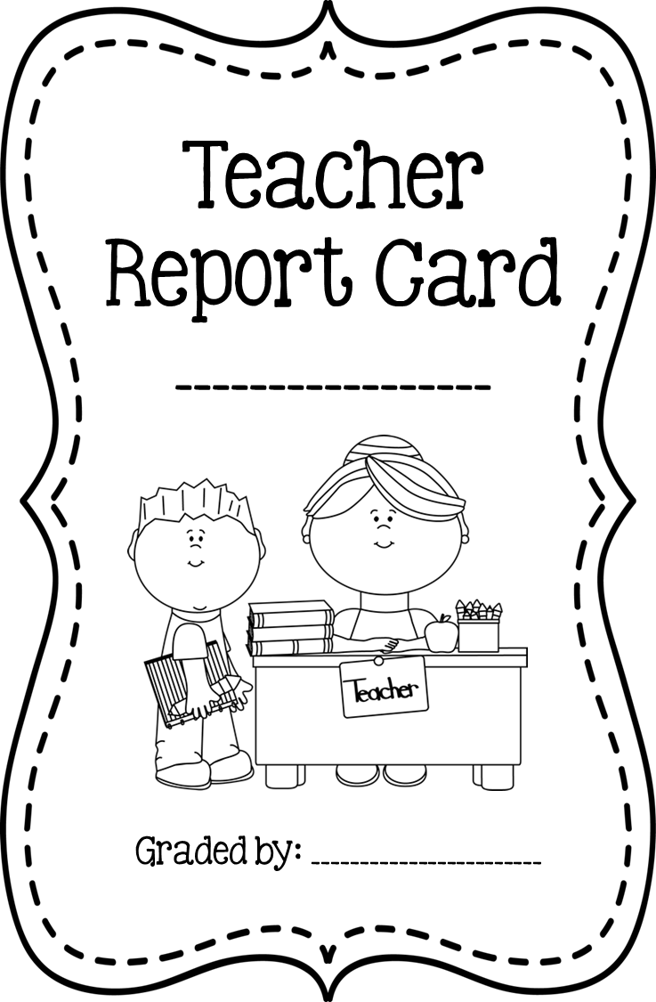 Fifth Grade Freebies: End of the Year TEACHER Report Card