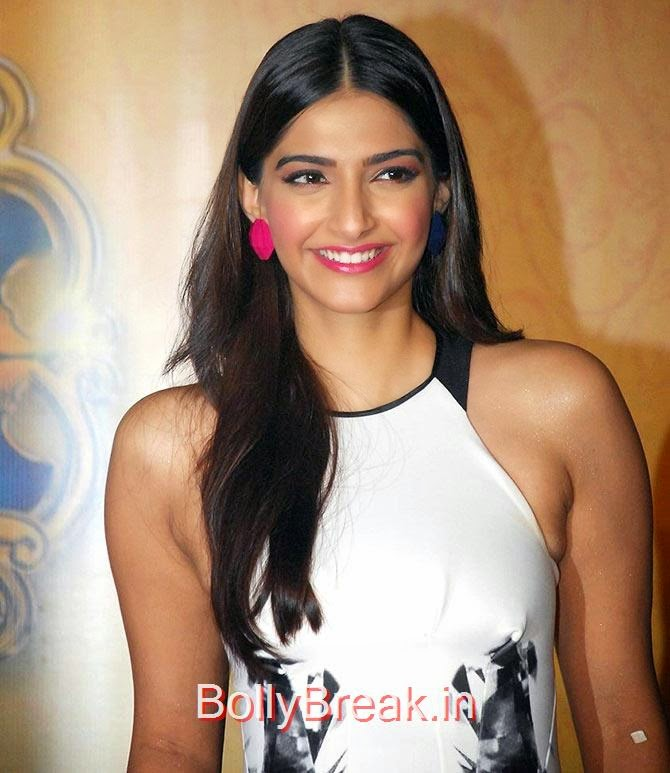 Sonam Kapoor Red lipstick Pink lipstick, Bollywood Actresses Lipstick Styles - Red, Pink, Nude