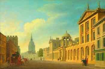 Thomas Malton: Oxford um 1707