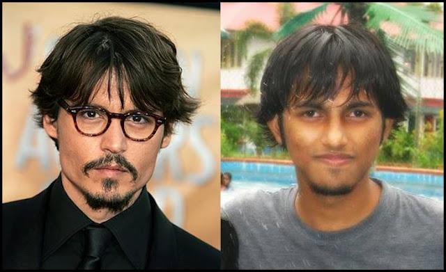 Sourajit Saha And Johnny Depp 2