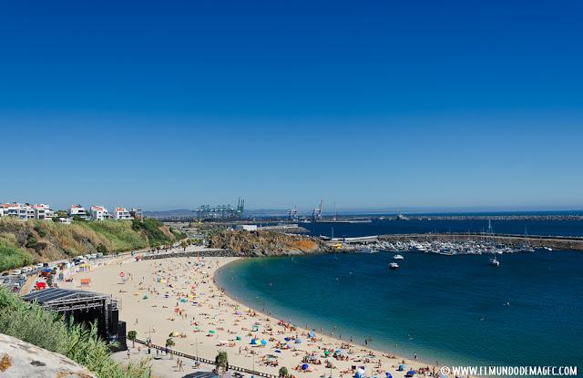 playas-del-alentejo. Playa de Vasco de Gama en Sines