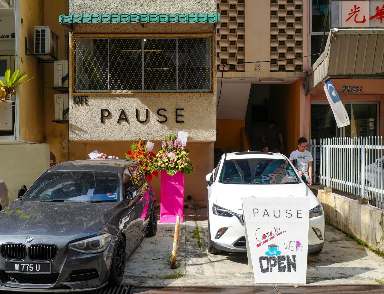 Pause Cafe, Choo Cheng Khay Road