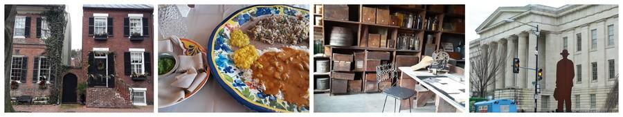 cuisine éthopienne et sites historiques à Alexandria