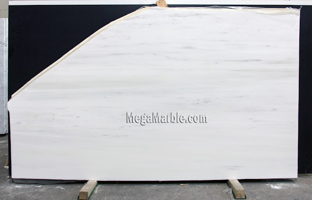 Bianco Dolomiti 2cm Polished marble slabs for countertops