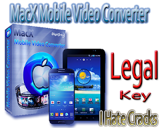 Get MacX Mobile Video Converter With Genuine And Legal License Key