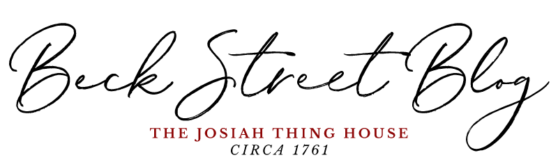 Beck Street Blog | The Josiah Thing House