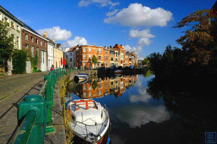 Le Chameau Bleu - Blog Voyage Week End Gand Belgique - Canaux de Gand - Belgique Week end à Gand Ghent Gent