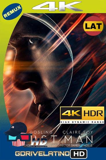 First Man (2018) IMAX BDRemux 2160P 4K HDR Latino mkv