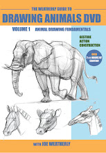 WEATHERLY GUIDE TO DRAWING ANIMALS DVD