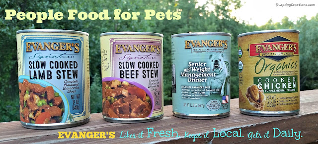 Evanger's canned dog food