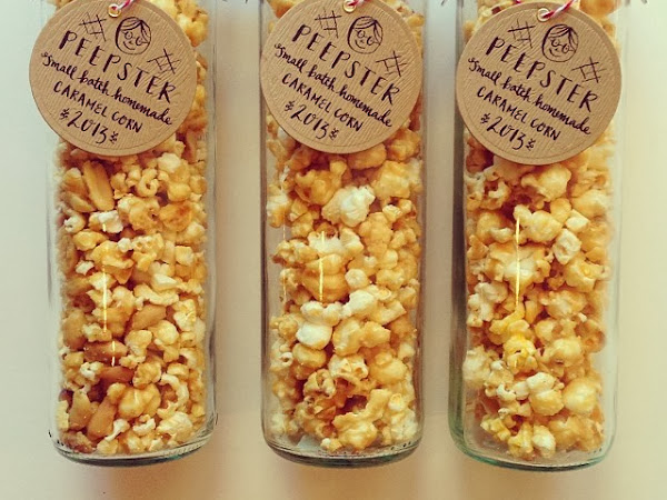 Small Batch Popcorn Tags