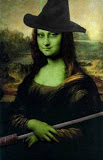 Witchy Mona Lisa