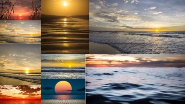 تحميل 9 صور متنوعة للمناظر الطبيعية في المساء جودة عالية