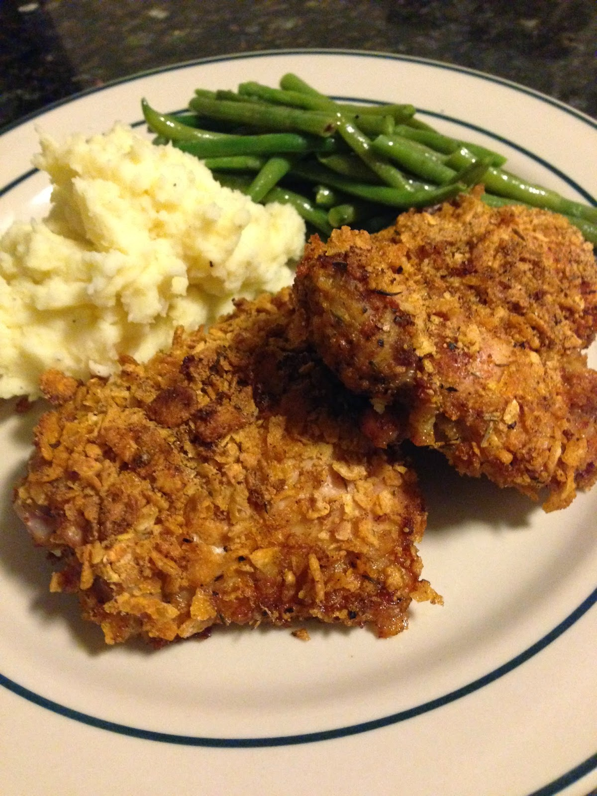 Chicken & Crumbs - Oven Baked Cornflake Chicken