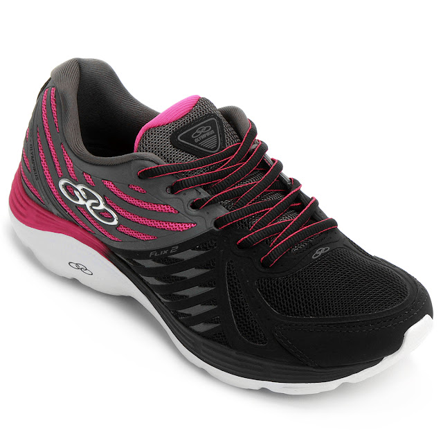 Tênis Olympikus Flix 2 é o parceiro ideal para as mulheres que buscam mais conforto e aderência durante suas corridas e caminhadas