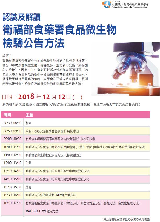 TTQAS臺灣檢驗及品保學會