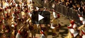 Βίντεο: Η μεγάλη νυχτερινή παρέλαση στο καρναβάλι της Πάτρας