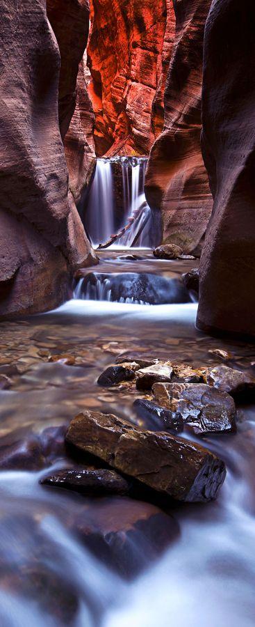 Upper Kanarra Falls, Kanarraville, Utah, USA