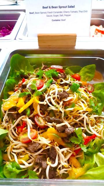 resep salad daging khas Thailand