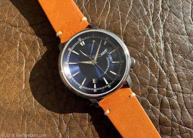 Gavox Legacy Power Reserve Ultima Necat blue