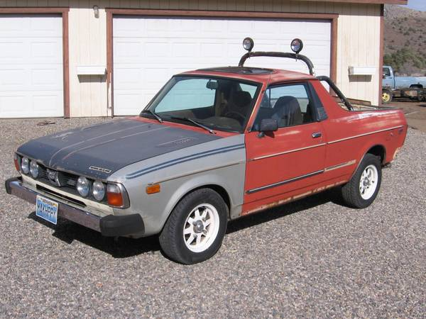 1979 Subaru Brat 4x4 Pickup