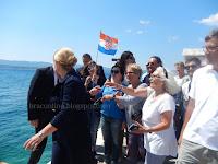 Hrvatska predsjednica Kolinda Grabar – Kitarović Bol slike otok Brač Online