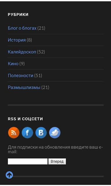 Адаптация блога WordPress под мобильные устройства