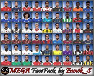 PES 2017 Mega Facepack 2017/2018 AIO