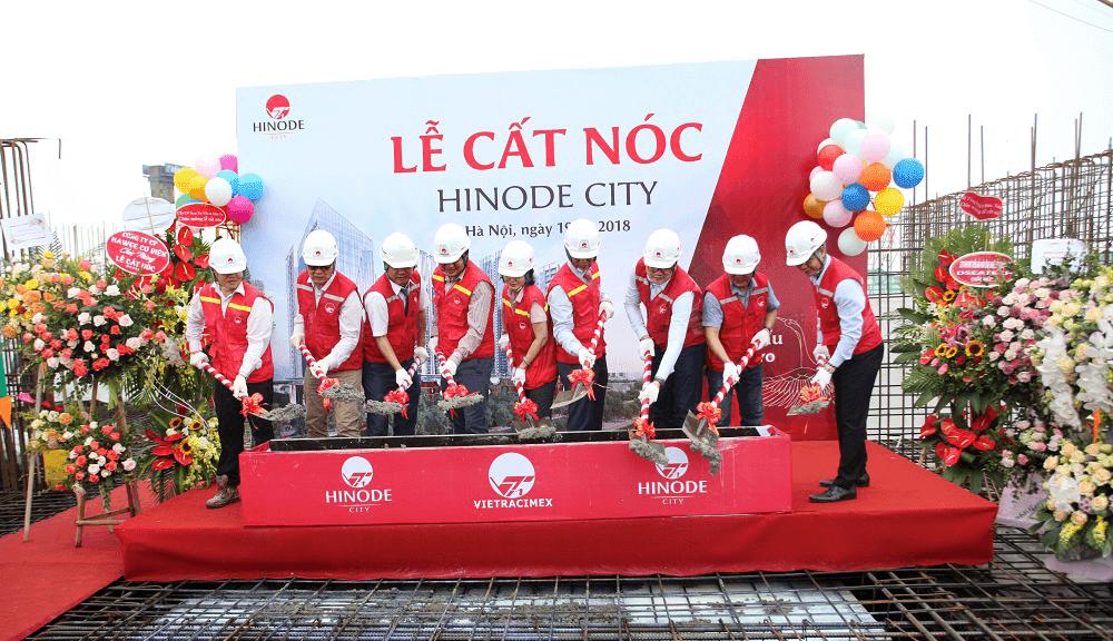Lễ cất nóc dự án Hinode City