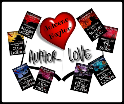 Author Spotlight - Joleene Naylor is the author of the glitter-less Amaranthine vampire series
