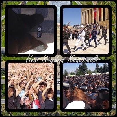 6000 gönüllü hep birlikte Atatürk olduk.