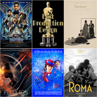 Best Production Design 2019 Academy Awards